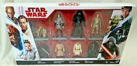 STAR WARS - Disney Target Hasbro Star Wars Era Of The Force X8 Figure Set MIB