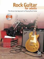 Rock Guitar for Adults with CD Tobias Hurwitz