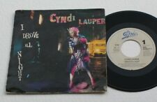 CYNDI LAUPER 45 TOURS  I DROVE ALL NIGHT/ MAUYBE HE'LLKNOW