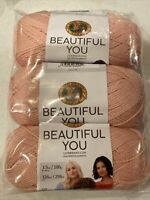 Pack of 3 Skeins Tamarin Lion Brand Yarn 322-133 Go for Faux Yarn