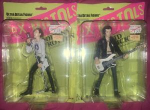 Medicom Toy: Sex Pistols Ultra Detail Figures!! Johhny Rotten & Sid Vicious PAIR