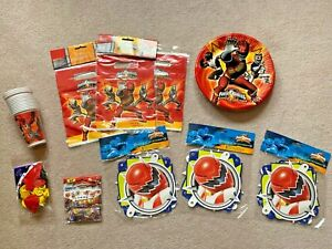 Power Rangers Super Legends Party Supplies