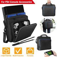 Black Multi functional Travel Carry Case Handbag For Sony Play Station 4 PS4 Bag
