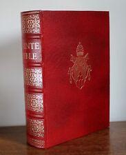 La sainte bible du chanoine crampon Cercle du Bibliophile 1969