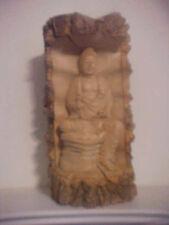RARE CORK TREE BUDDHA HAND-CARVED FROM INDONESIA!  -  S203UCXZZ