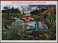 2006 SOUTHERN FLORIDA WETLAND Nature of America 8: Mint Sheet 10 39¢ Stamps 4099