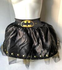 Batman Batgirl Tutu Skirt DC Superhero dress Halloween Adult Costume Accessory