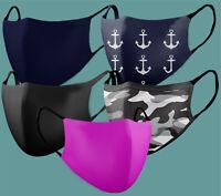 Mundschutz Behelfsmaske Maske Waschbar Mundmaske Gesichtmasken Expressversand