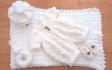 MIMSY * Nouveau-né * reborn * Magnifique bébé garçon layette * poupées tricoté à la main Vêtements Set *