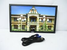 "Dell UltraSharp U2412Mb 24"" LED-Backlit LCD Monitor W/ POWER & VGA CABLES GREAT!"