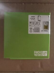 DELTA DORE Thermostat d'ambiance sans fil programmable   6053007 Tybox 137.