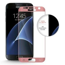 Full 3D ROSE GOLD Tempered Glass screen protector for Samsung Galaxy S7