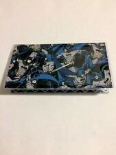 Batman fabric Checkbook Cover Vintage DC Comics Retro Geek Gift for him