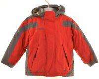 COLUMBIA Boys Windbreaker Jacket 4-5 Years Red Nylon  NM12