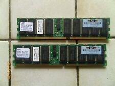 PC2100R-25330-N0 Samsung mémoire RAM 4X1GB DDR M312L2828DT0-CB0Q0