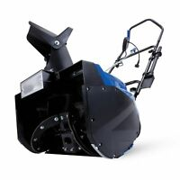 Snow Joe Electric Single Stage Snow Thrower | 18-Inch | 15 Amp | Headlights