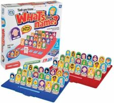 Whats Their Name Board Game Fun Guessing Childrens Kids Guess Who Party Toy
