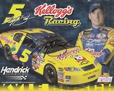 KYLE BUSCH Signed Autographed 8x10 Rookie Year Hero Card, Postcard, Photo NASCAR