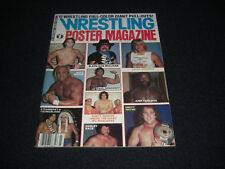 Wrestling Poster Magazine 1984 Vol 3 Harlet Race  Hulk  Dusty