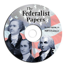 Federalist Papers-Hamilton Madison Jay MP3 Audio CD-US History-Constitution-USA