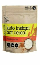 HighKey Instant Hot Cereal Low Carb Breakfast Keto Friendly Cinnamon Spice 9 oz