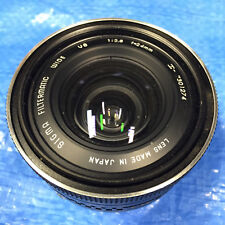 Camera Lens Sigma Filtermatic Wide 1:2:8 f=24mm 24mm Japan