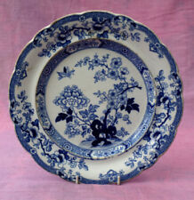 Blue & White Transfer Ware Victorian Date-Lined Ceramics