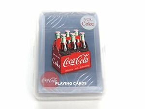 Coca-Cola Playing Cards, Clear