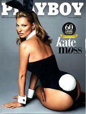 "Playboy 02/2014  *KATE MOSS & ""Gabby"" DE ALMEIDA RINNE mit Abo-Cover!*"