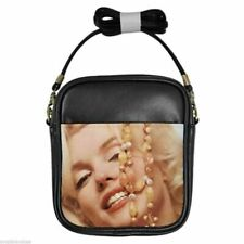 MARILYN MONROE ANGEL BABY Leather Sling Bag Small Purse