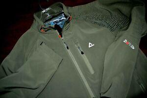 Dare 2B Mens Full Zip Soft Shell Light Olive Jacket sz XL