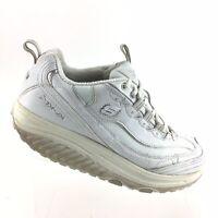 Skechers Shape Ups Athletic Training Toning Walking White Womens 8.5 M Shoes R89