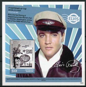 Antigua & Barbuda 2019 MNH Elvis Presley His Life in Stamps Music 1v S/S II