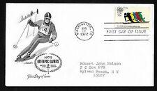 #C85  11c Winter Olympics 1972 Sapporo - Artmaster  FDC