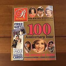 =Royalty Magazine Volume 9 No 4 January 1990 Anniversary Issue Decade of Diana