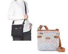 7d3472cb72 Rosetti womens Confetti Multi White Geometric Crossbody purse bag NEW