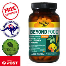 Country Life Beyond Food Multivitamin & Mineral Iron Free 120 Vegan Caps