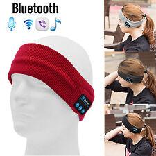 Women Men Wireless Bluetooth Head Band Earphone Sport Sleep Stereo Music Headset