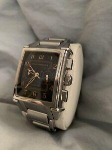 Girard Perregaux 1945 Chronograph Watch 2599 Stainless Steel
