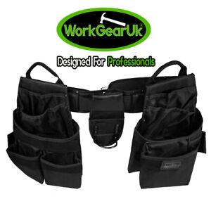 WorkGearUK Tool Belt 15 Pocket Heavy Duty polyester Fabric - WG-PX18