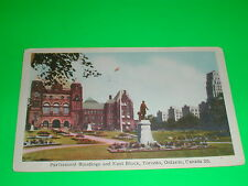 Parliament Buildings and East Block, Toronto Ontario Canada Postcard
