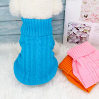 Puppy Sweaters for Extra Small Dogs Boy Girl Winter Pet Chihuahua Clothes Pink