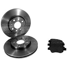 Vauxhall Corsa 2006-> Apec Front Discs 257mm And Pads