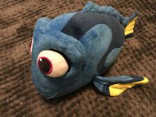 BANDAI DISNEY Plush FINDING NEMO Blue TALKING DORY FISH Stuffed Animal