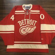 Reebok Detroit Red Wings Henrik Zetterberg 2014 Winter Classic NHL Jersey Red M