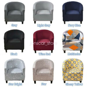Club Chair Sofa Slipcover Stretch Removable Furniture Protector for Living Room