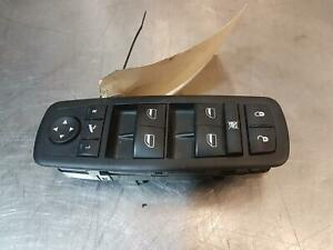 DODGE JOURNEY RIGHT FRONT POWER WINDOW SWITCH (MASTER SWITCH), 09/08-07/11