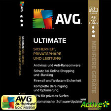 AVG ULTIMATE 2021 | antivirus, TuneUp, VPN | PC, Mac, Android, iOS | de 2 anni