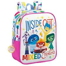 """Disney INSIDE OUT """"MIXED EMOTIONS""""- Small Backpack / Rucksack -Size: 22x27x10 cm"""