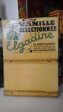 Présentoir publicitaire vanille Elgadine Marseille